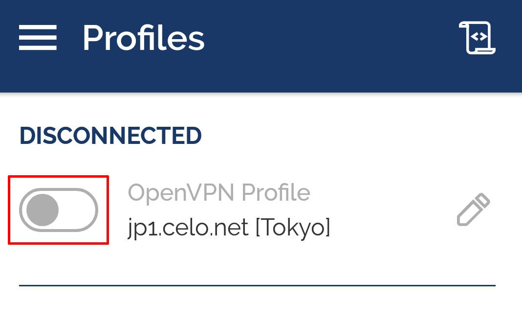 android openvpn connect to vpn server