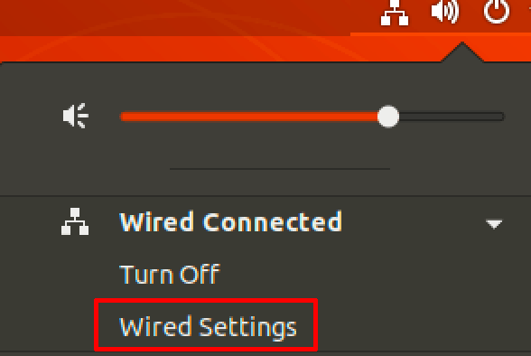 ubuntu wired settings vpn