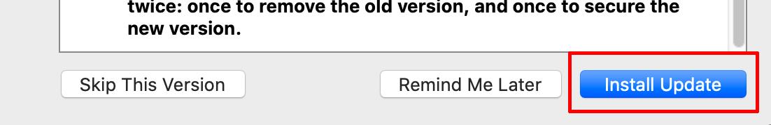 Celo VPN macOS Install Update